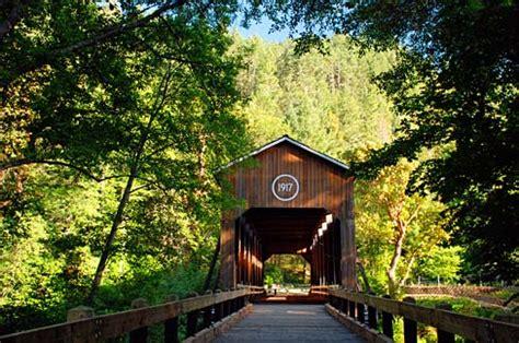 Jackson County Oregon Records Datei Mckee Covered Bridge Jackson County Oregon Scenic