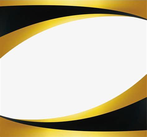 black gold wave border projeto certificado bordas