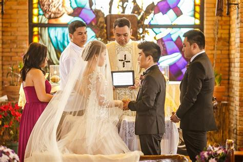 christian wedding ceremony wedding requirement kasal