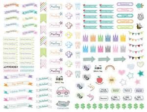 free printable kawaii planner stickers cute lds planner stickers planners lds and stickers