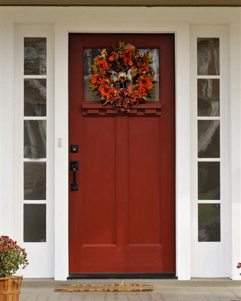 hgtv front door colors 7 curb appeal tips for fall hgtv