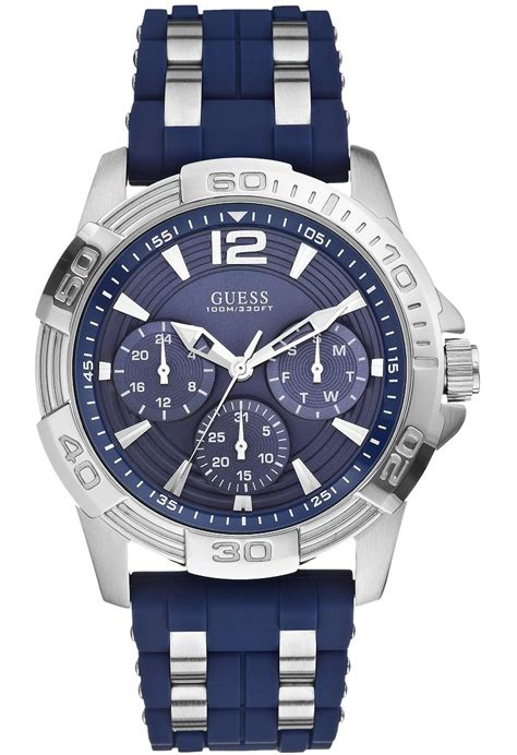 Guess Sassy W0705l2 montre oasis w0366g2 guess bleu nuit montres and co