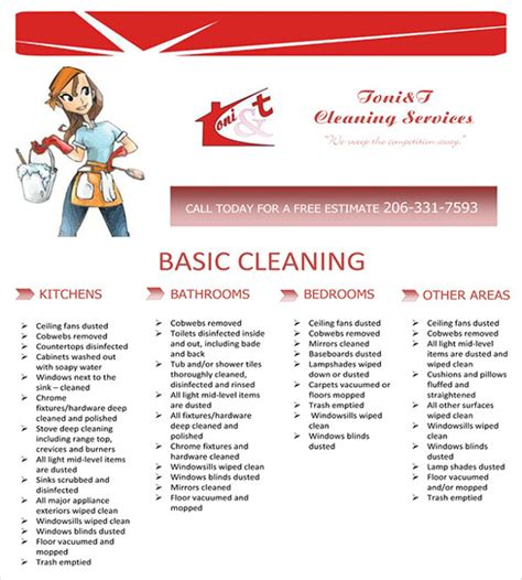 cleaning company flyers template house cleaning services flyer templates