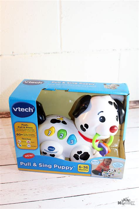 vtech pull and sing puppy baby with the pull sing puppy from vtech six time and counting
