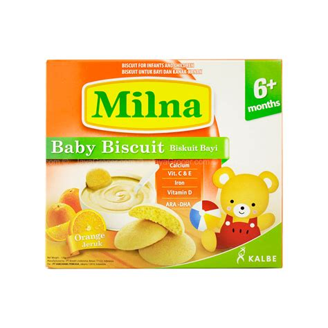 Milna Biskuit Toddler 110gr harga jual biskuit toddler oreo thins crispy cookies