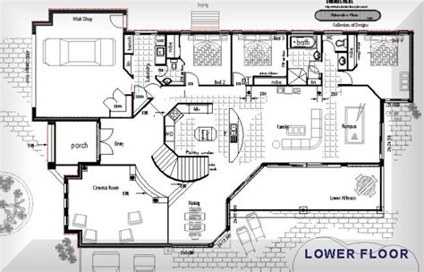 australian home plans floor plans bungalow house designs philippines australian house