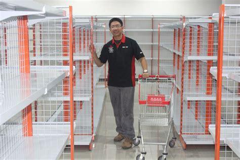 Jual Rak Dinding Makassar jual rak minimarket alfamidi alfamart gondola toko supermarket murah jakarta