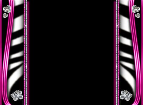 pink and zebra print border free wallpaper cool zebra backgrounds cliparts co