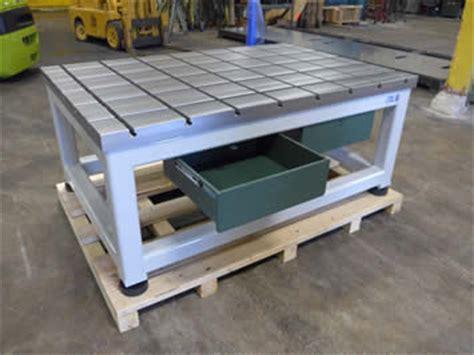 steel t slot table cfm itbona t slot tables on support frames
