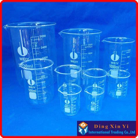 Promo Beaker Glassgelas Kimia Low Form 50 Ml glass beaker 5 pcs set 50 100 150 200 250ml low form
