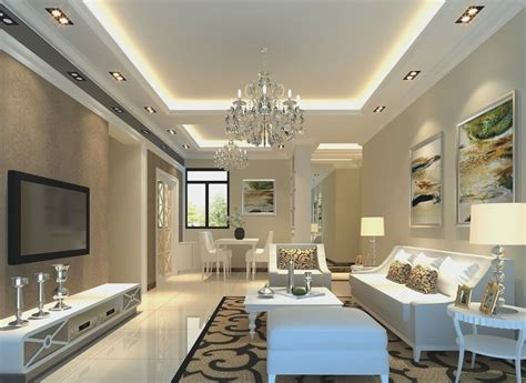 plaster ceiling design  living room  modern design