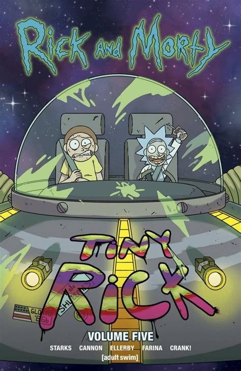 rick and morty vol 5 preview