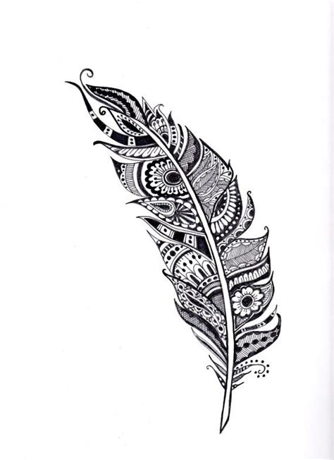 feather henna tattoo designs henna feather illustration feather coloring page by