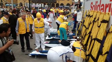 earthquake drill in wake of nepal disaster lima leads national earthquake
