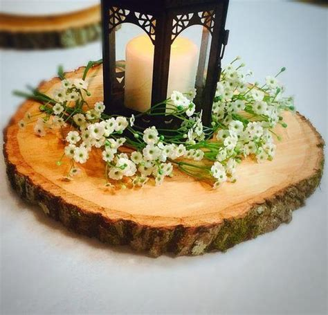 wood slices for table centerpieces rustic wood slices for decoration at weddings and bridal
