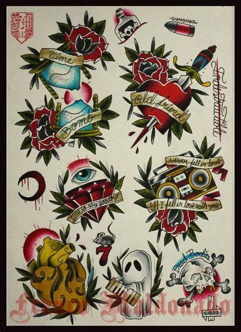 tattoo flash old school free 171 mejores im 225 genes sobre tattoos old school en pinterest