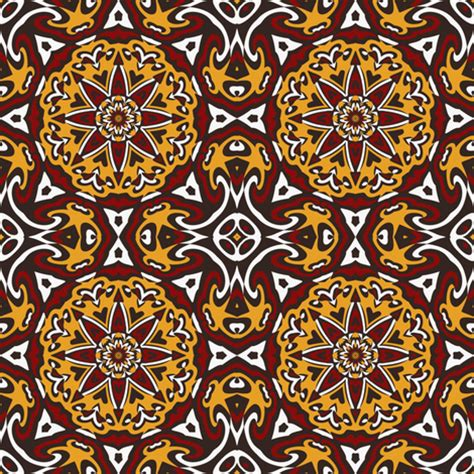 tribal pattern black and gold set 2 pattern 4 red gold white black tribal style