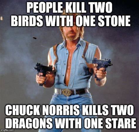 Meme Generator With Two Images - chuck norris guns meme imgflip