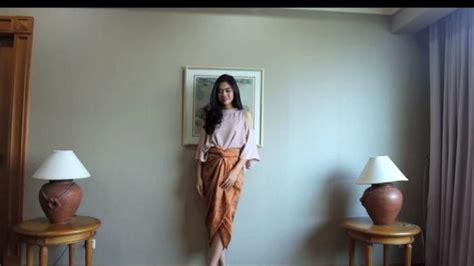 tutorial ikat kain batik tips mudah dan praktis memakai kain batik tanpa perlu