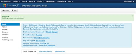 adsense joomla extension google adsense integration in joomla 3 arvixe blog