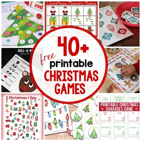 educational christmas games printable 40 free printable christmas games for kids the measured mom