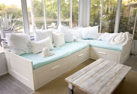 hemnes daybed hack ikea hack brimnes daybed home pinterest day bed
