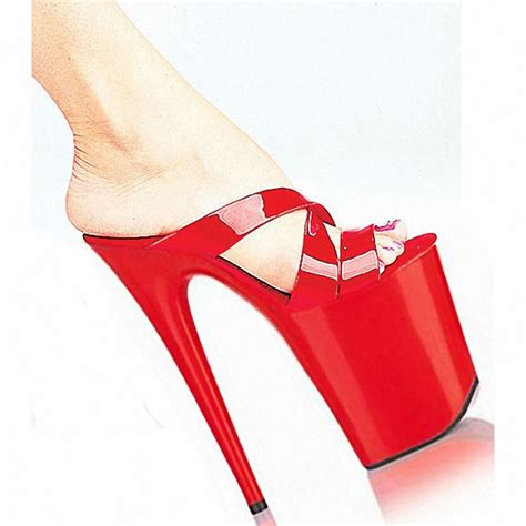 8 inch high heel shoes for s 20cm gorgeous bright