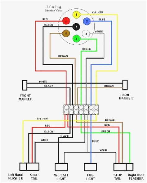 simple wiring diagram for trailer lights trailer light