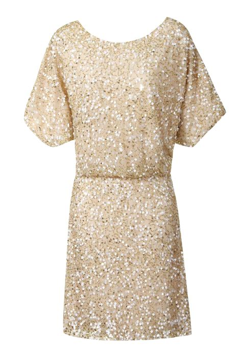 Gold Dress For heavily sequined gold dress