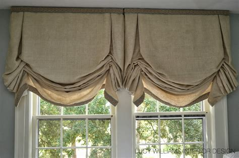 Balloon Shades For Windows Inspiration Williams Interior Design Before And After Sylvan Guest Room Window Treatments Phase 1