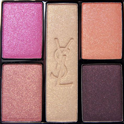 eyeshadow tutorial ysl yves saint lau very ysl makeup palette review mugeek