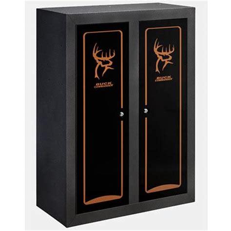 stack on buck commander double door gun & bow cabinet