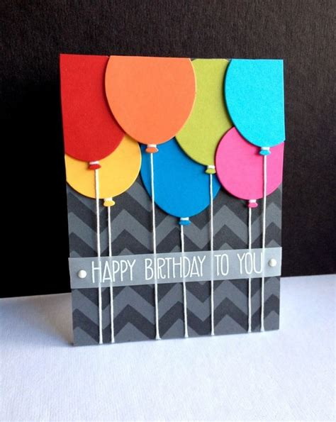 Simple Birthday Cards Handmade - 37 birthday card ideas and images morning