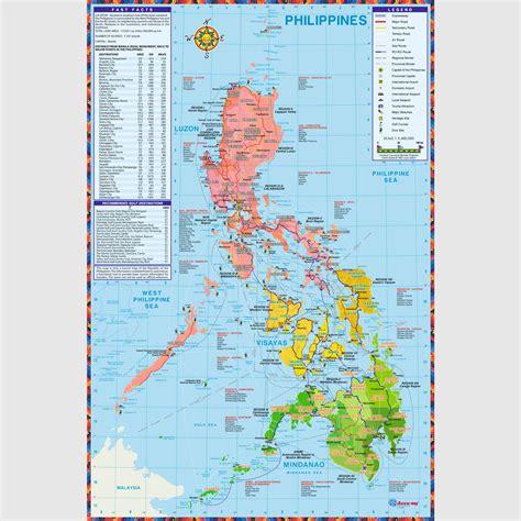 maps philippines philippine map political customization accu map