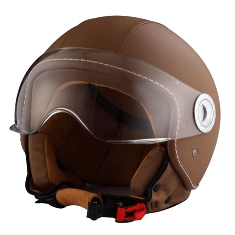 casco moto cuero casco moto jet ride 701 cuero marr 243 n m norauto es