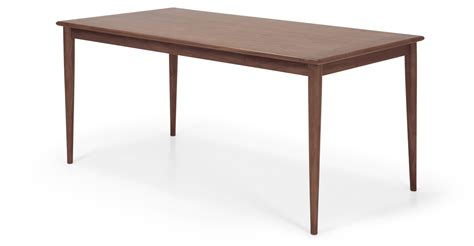 Valder Dining Table In Dark Stain Elm Made Com Stain Dining Table
