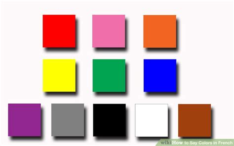 images to color how to say colors in 3 steps with pictures wikihow