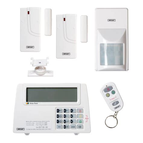 alarm system homes defiant wireless home security protection system thd 1000