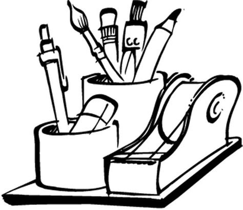 materiel de bureau discount coloriages materiel de bureau