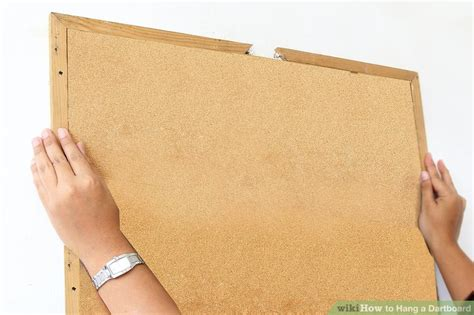 how to hang a dartboard cabinet how to hang a dartboard 10 steps with pictures wikihow