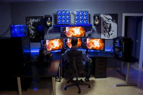 Computer Set Ups by 35 Setup De Gaming Epic Pour Les Gamer Sur Pc Geekqc Ca
