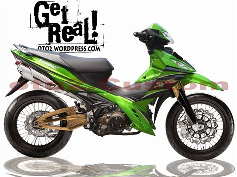 modifikasi kawasaki edge balap thecitycyclist