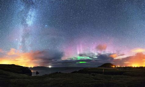 northern lights sun l chasing the northern lights in donegal ireland com