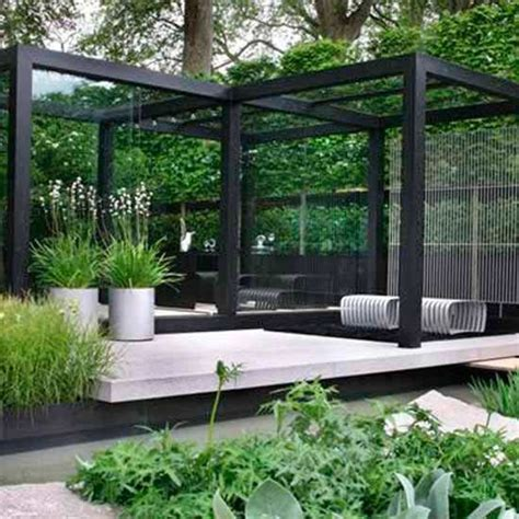 garden area ideas restaurant outdoor design