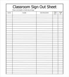 classroom register template best photos of sign in sheet templates excel volunteer