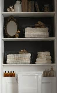 recessed shelves in bathroom clever bathroom storage content in a cottage