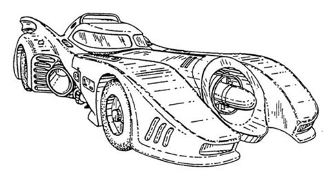 batman car drawing build your own 1989 batmobile using these blueprints