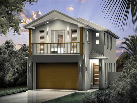 Best Design Narrow Lot Beach House Plans Architecture | vacation home plans narrow lots cottage house plans