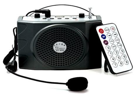 Portable Audio Waist Band Microphone Digital R Promo portable speakers digital megaphone microphone voice lifier loudspeaker audio booster
