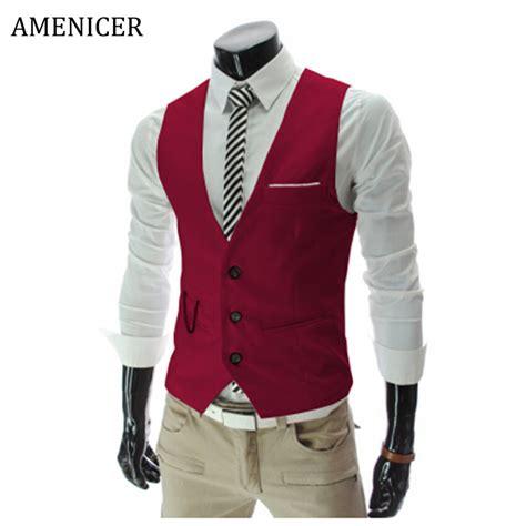 Korea Vest by New Fashion 2016 Mens Suit Vest Korean Style